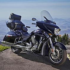blue cross country victory Real MotorCycles Pinterest
