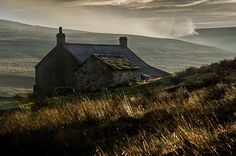 Swandale Cottage, near Edmundbyers, North Pennines, England by David Allen