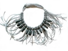 Paper Necklace by Angela Simone