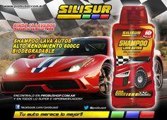 HOY QUE HAY SOL, LAVA TU AUTO CON SHAMPOO LAVA AUTOS ALTO RENDIMIENTO DE SILISUR!! http://articulo.mercadolibre.com.ar/MLA-547416747-silisur-shampoo-alto-rendimiento-autos-vainilla-pride-600cc-_JM