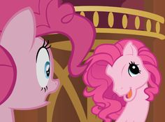 """""""Betcha cant make a face crazier than..... THIS!!!"""" -Too Many Pinkie Pies episode"""