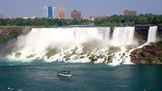 American Falls at Niagara by Tonyfoster, via Flickr