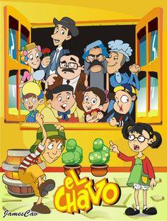 El Chavo Del Ocho Characters Animated El chavo del ocho animado