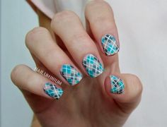 Nailuminium: Argyle Nails (+tutorial)