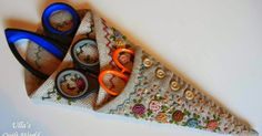 Ulla's Quilt World: Quilted Scissor Case and Pattern Hanging Quilts, Quilted Wall Hangings, Japanese Patchwork, Patchwork Bags, Sewing Hacks, Sewing Crafts, Sewing Projects, Club Couture, Quilt Patterns