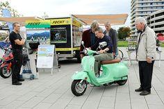 Ludwigshafener Klimawoche 2013 - Eines der Höhepunkte war die eRoadshow des Bundesverbandes für Mobilität, ein Übungsparcours mit Rädern des ADAC und Segway-Touren am Rhein entlang.