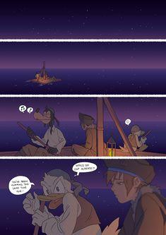 "sekajiku: ""how far could a raft take us? """