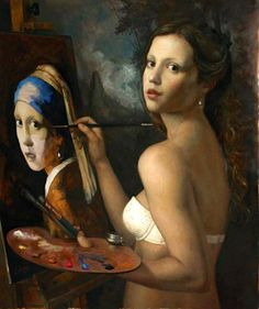 Paintings by Cesar Santos