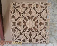 dise/ño de mandala Decoraci/ón de pared de madera redonda 30 cm de di/ámetro