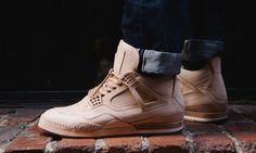 Having provided a teaser back in June, we can now bring you a further glimpse at Hender Scheme's breathtaking Air Jordan IV tribute. The Japanese craftsman's latest jaw-dropping creation has been hand made from naturally vegetable dyed…