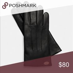 Coach black leather gloves Sz 8 Details Leather Lining: 100% merino wool Coach Accessories Gloves & Mittens
