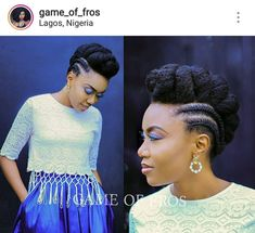 Photo by 'esther Tom in Lagos, Nigeria. Image may contain: 2 people African Braids Hairstyles, Braided Hairstyles, Wedding Hairstyles, Natural Updo Hairstyles, Black Girl Braids, Braids For Black Hair, Ombré Hair, Hair Dos, Curly Hair Styles