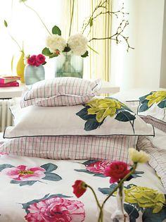 Buy Designers Guild Pavonia Pillowcase, Pink online at JohnLewis.com - John Lewis
