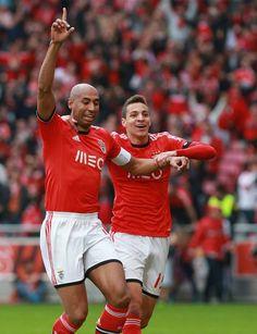 Luisão (4) e Rodrigo (19) | Benfica - Estoril (2-0) | 22ª Jornada Liga Zon Sagres | 09.03.2014 | Golos de Luisão e Rodrigo