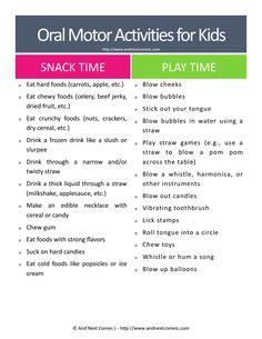 Oral Motor Activities Printable.pdf