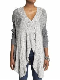 obsessed with this sweater/cape.