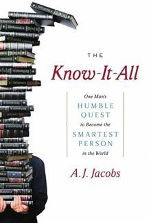 33,000 pages 44 million words 10 billion years of history 1 obsessed man  Part memoir and part education (or lack thereof), The Know-It-All chronicles NPR contributor A.J…  read more at Kobo.