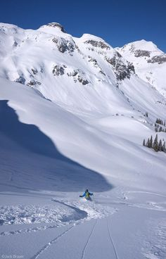 Paradise: backcountry skiing in the San Juan Mountains of Telluride, Colorado