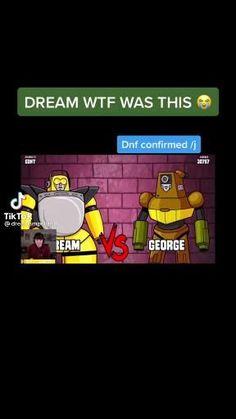 Stupid Memes, Stupid Funny, Haha Funny, Funny Memes, Minecraft Fan Art, How To Play Minecraft, My Dream Team, Just Dream, Dream Friends