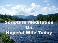 Scripture Meditation: Psalm 73:26