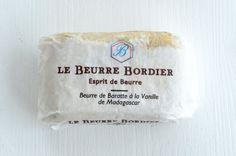 Le beurre Bordier.