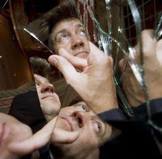 David lynch, broken mirror portrait
