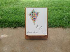 Patterned Kite Print by Chromatill on Etsy, $15.00