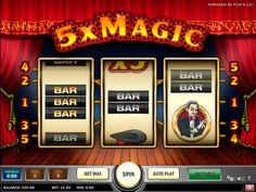 Kolikkopeli 5x Magic on ilmainen rahapeli netissä Play 'n Go on kehittää tätä online video kolikkopeli soittosi ilo, mukavasti omassa kotona.