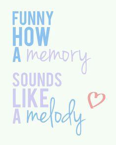 Sounds Like A Melody