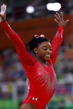 Monica Puig's braided ponytail, Simone Biles's patriotic bow, and more. Black Gymnast, Young Gymnast, Simone Biles Parents, Famous Gymnasts, Monica Puig, Sport Gymnastics, Free To Use Images, Olympic Sports, Rio Olympics 2016