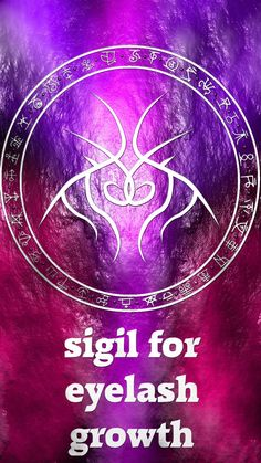 Anonymous said: Can I have a sigil for eye lash growth please? 😊 Answer: Sigil for eye lash growth Here you go my friend. Sigil requests are open Sigil Magic, Magic Symbols, Magick Spells, Witchcraft, What Are Eyelash Extensions, Eyelash Growth, Book Of Shadows, Paranormal, Occult