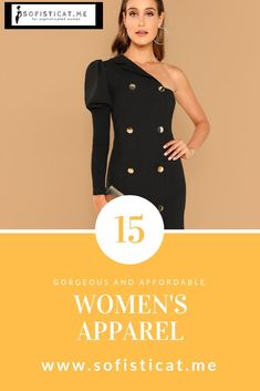 Great for Christmas presents for your girlfriends or find a dress for any occasion. Classy Outfits, Chic Outfits, Work Outfits, Diy Fashion, Fashion Dresses, Fashion Trends, Old Sweater, Boho Skirts, Elegant Woman