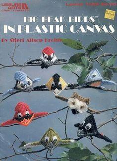 Big Beaks in Plastic Canvas
