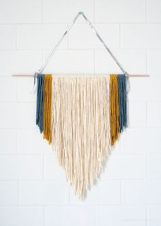 DIY Easy Macrame Wallhanging - Love From Ginger                                                                                                                                                                                 Mehr