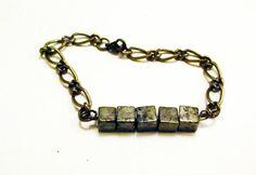 Small Pyrite Bracelet