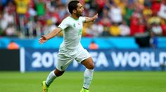 Abdelmoumene Djabou (ALG) - 3rd Goal - Korea Republic vs Algeria 2-4 - Group H 22 June 2014