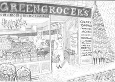 High Street Grocer - Emily Sutton