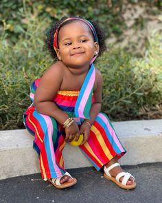 Cute Black Babies, Beautiful Black Babies, Black Kids, Cute Babies, Cute Outfits For Kids, Cute Kids, Baby Bundles, American Children, More Cute