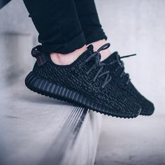 Sneakers Femme - adidas yeezy 350 boost black