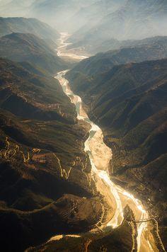 Flight back to Kathmandu, Nepal, by leon kovacic, on flickr.