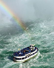 The Maid of the Mist  Niagara Falls - Did this years ago, such fun..