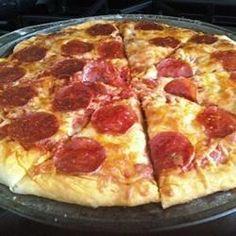 Foto da receita: Massa de pizza rápida e fácil Pizza Recipes, Cooking Recipes, Healthy Recipes, Love Pizza, Pizza Pizza, Portuguese Recipes, Quiches, I Love Food, Allrecipes