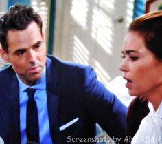 Victoria confides in Billy that sometimes she feels she can't handle running and business....and being a good mom.