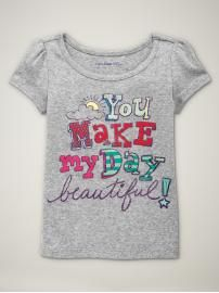 I love Gap's baby girl graphic Ts