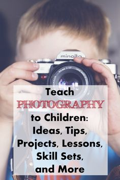 Are you interested in helping your kids become better photographers? From taking local classes to learning basic composition techniques, your children will be improving their skills in no time.