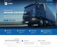 By choosing one of best transportation WordPress themes you can simplify the affect of structure a website to delegate your concern and its services Transport Logistics, Cargo Transport, Web Layout, Layout Design, Cargo Home, Company Brochure Design, Web Design, Instagram Design, Site Internet