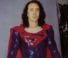 "Tim Burton was once slated to direct a Superman movie written by Kevin Smith and starring Nic Cage. The movie was originally set to feature ""rainbow robot outfits, Brainiac Skull ships, Superman fighting a giant spider and polar bears guarding the Fortress of Solitude,"" and the actual death of Superman. It was ultimately shelved in favor of 2006's Superman Returns."