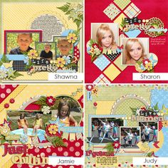 GingerScraps :: Templates :: Life Is Beautiful - 12x12 Temps (CU Ok): by Connie Prince
