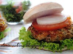 Μπιφτέκια Λαχανικών - Veggie Burger - in Greek