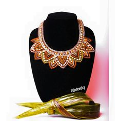 Collier pendentif collier africain fait main par mdthriftrack